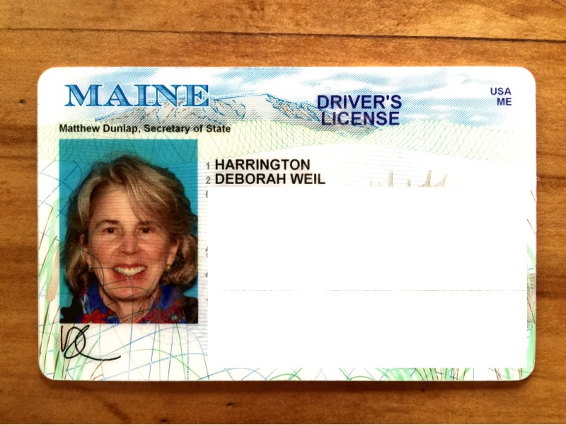 Goodbye DC Hello Maine The Charm Of A New Drivers License
