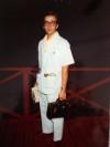 Sam's 1st day of medical residency in 1977