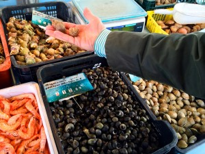 Fruit of the sea at Belle Isle fish market