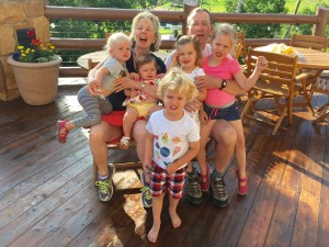 Our five grandbabies