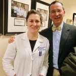 Drs. Amanda and Sam Harrington at Yale University Hospital