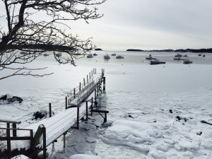 Icy cove