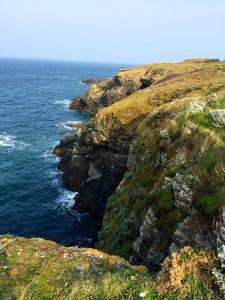 Belle Isle cliffs