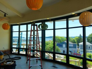 View from new OHA lobby