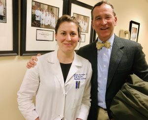 Drs. Amanda and Sam Harrington at Yale University Hospital